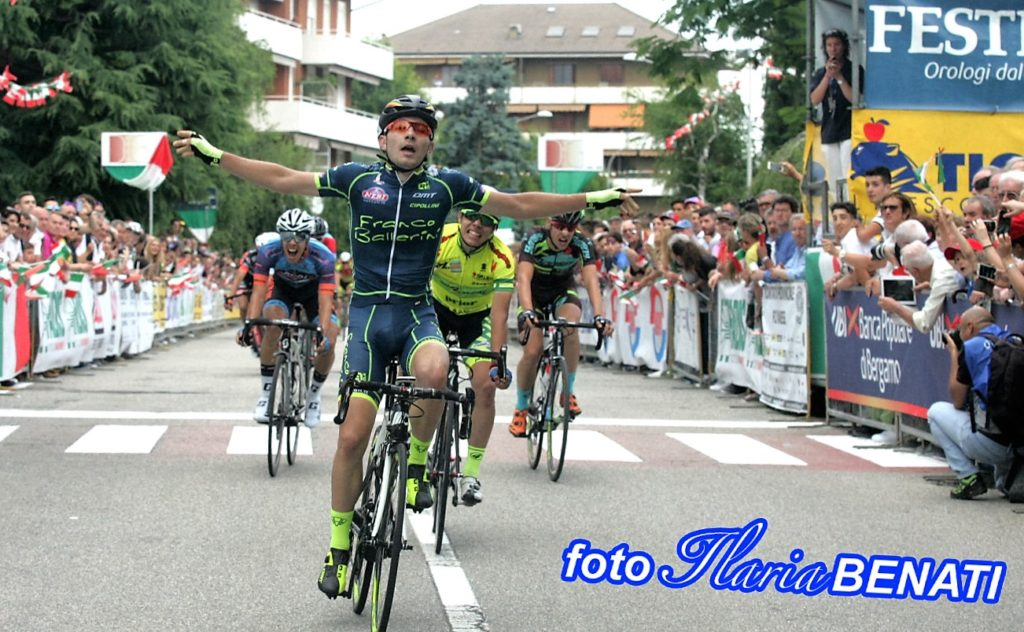 Juniores Arrivo Campionato Italiano 19 giugno 2016