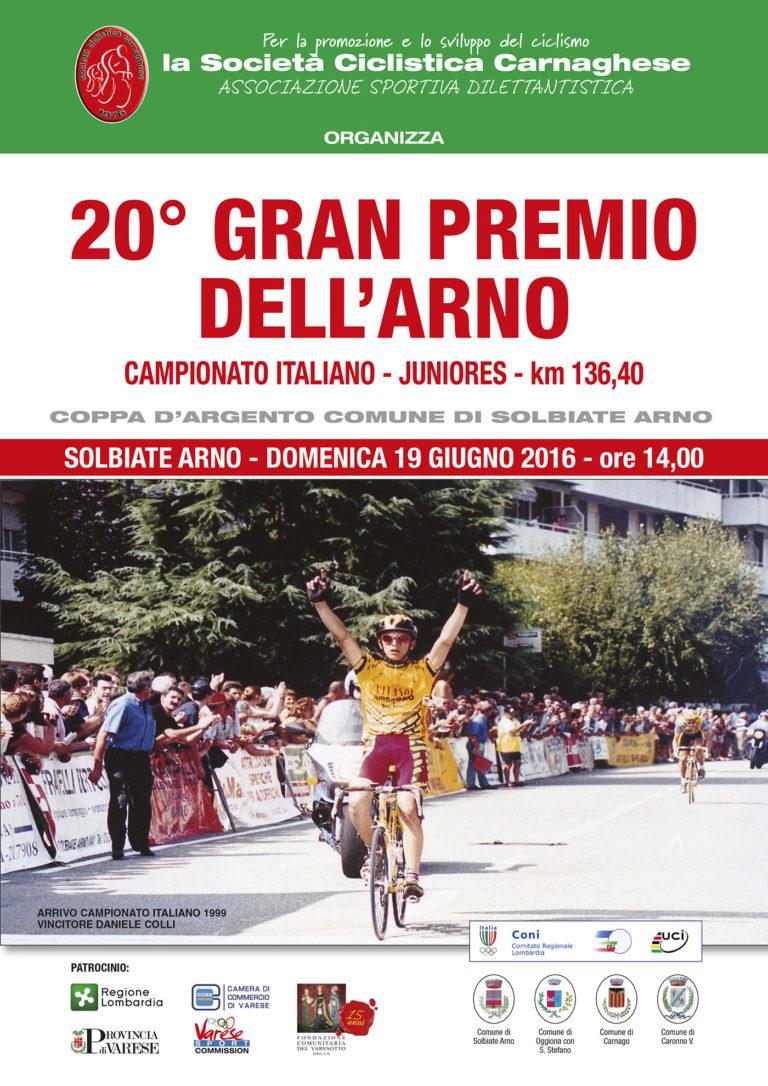 20° Gran Premio dell'Arno - Campionato Italiano Juniores