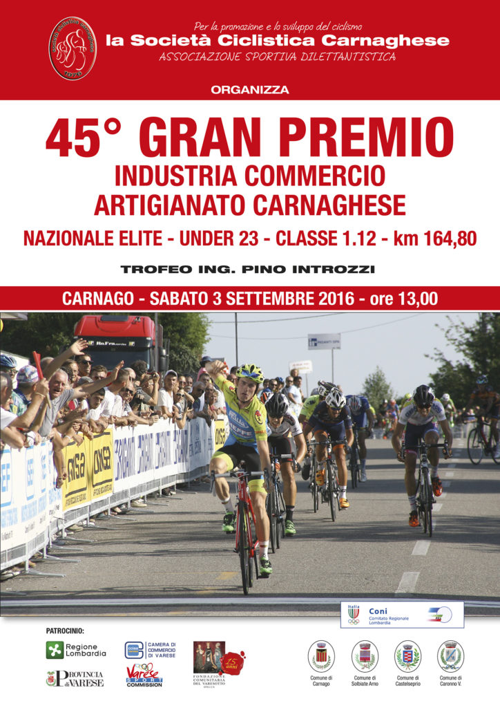 45 Gran Premio Industria Commercio Artigianato Carnaghese